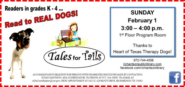 Tales For Tails feb 2015
