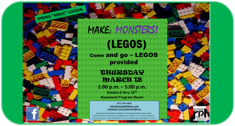 Make Lego Monsters