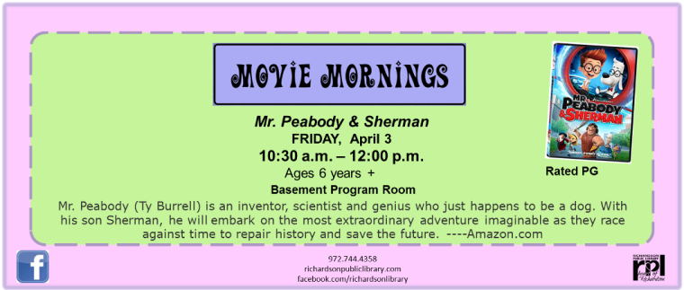 movie mornings april