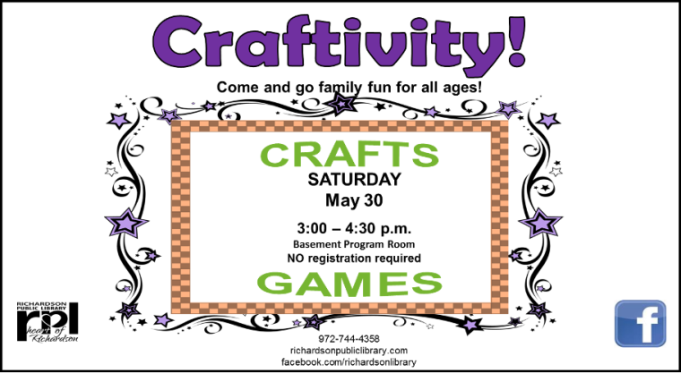 Craftivity May 2015