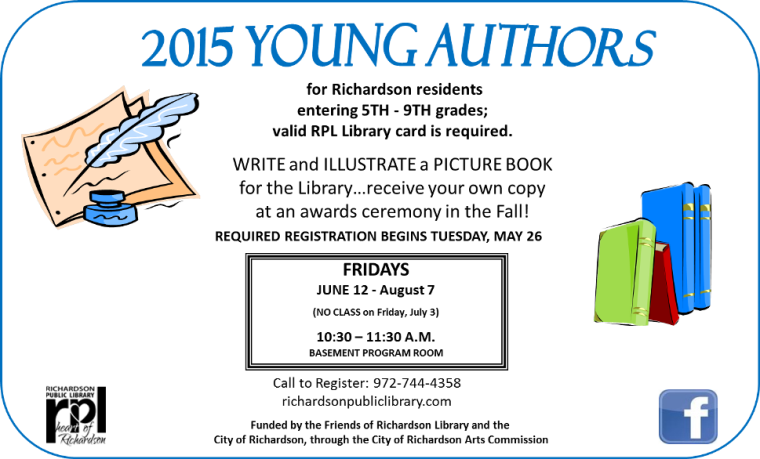 Young Authors 2015