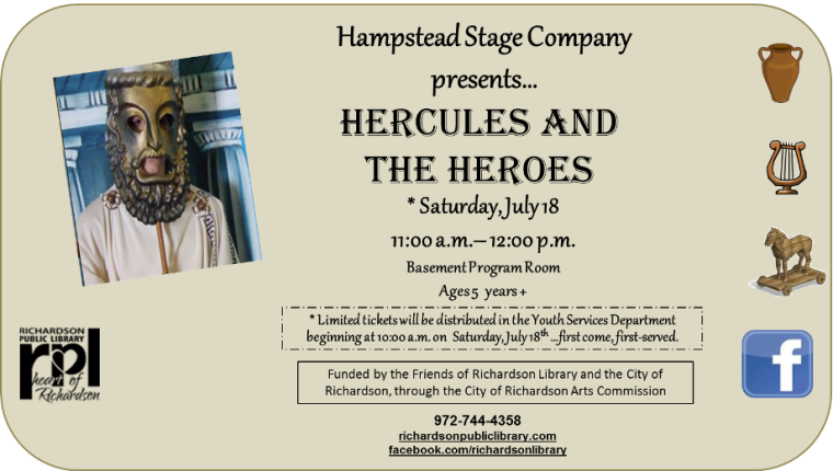 Hampstead Stage Company Hercules
