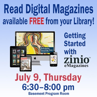 Getting Started with Zinio Magazines | Agendas and Minutes