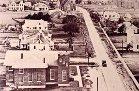 Photo of South Richardson in 1927