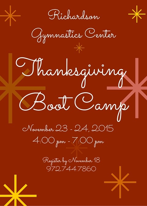 Thanksgiving Boot Camp