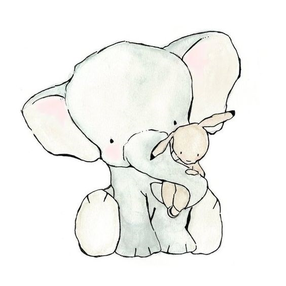 Image of Elephant for Baby Booksit