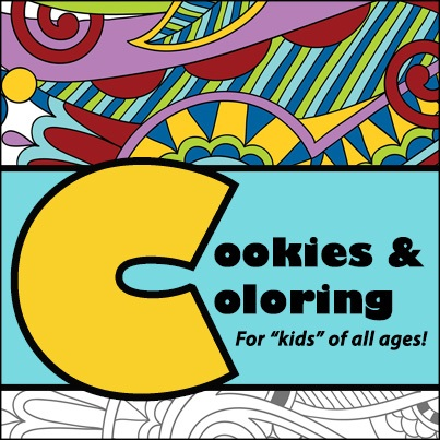 Image of January 2017 Cookies and Coloring