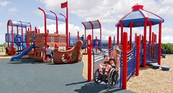 Inclusive Park Equipment