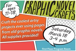 Graphic Novel Crafts