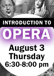 Intro to Opera program graphic