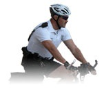image of bike officer