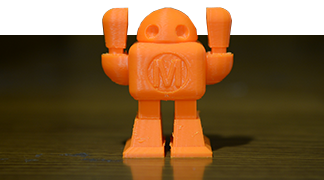 Image of a 3D Printed Robot