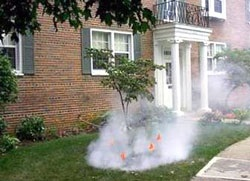 Smoke Test on Sewer Lines