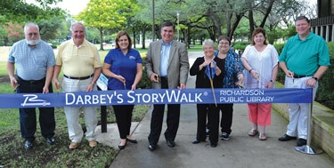 StoryWalk Ribbon Cutting