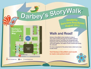 Darby's StoryWalk Map