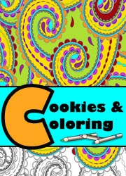 Cookies and Coloring October 2017