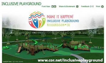 Inclusive Playground Web Page