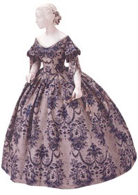 Victorian Fashion at Library