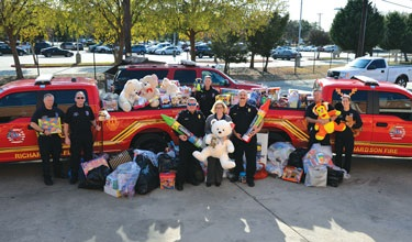 Toy and Food Donations Delivered to Network