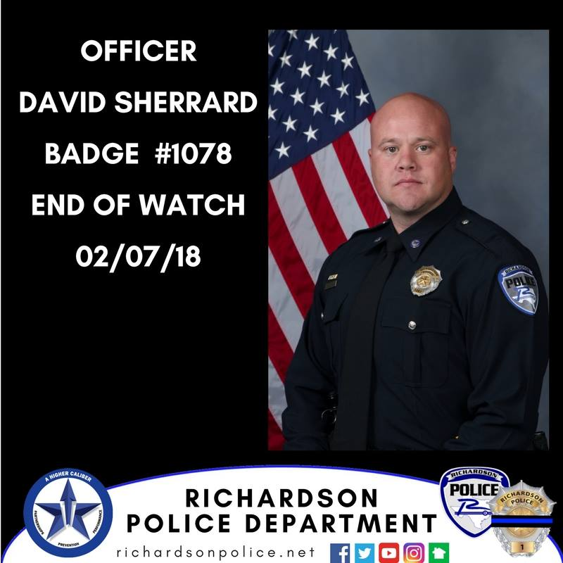 Officer David Sherrard