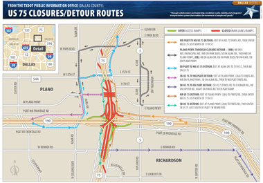 US-75-Detour-June-16