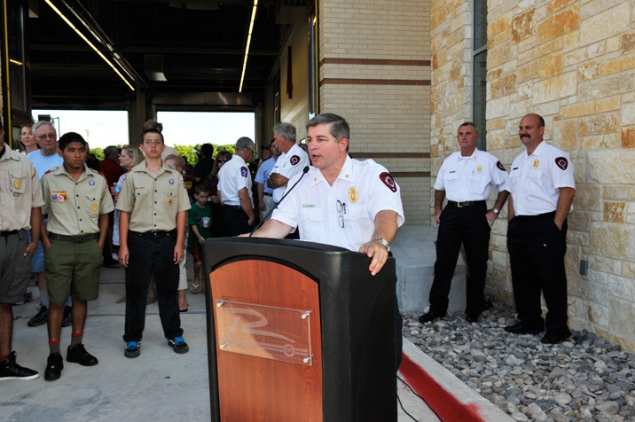 Fire Station 4 - Fire Chief Speech