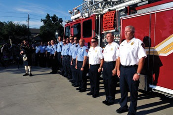 Station 4 Flag Ceremony