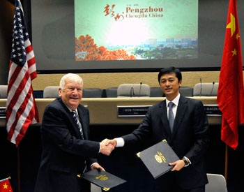 Richardson and China Mayors