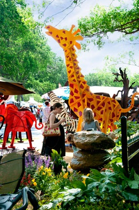 Cottonwood Art Festival - Giraffe