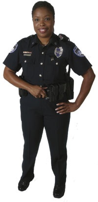 image of female officer