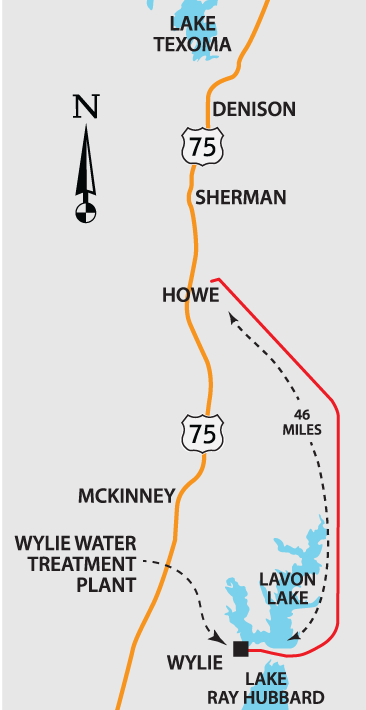 Texoma Pipeline Map