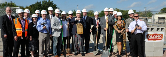 Alamo Drafthouse - Groundbreaking