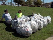 Creek Clean Up Trash Bags