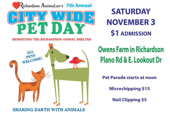 City Wide Pet Day Banner