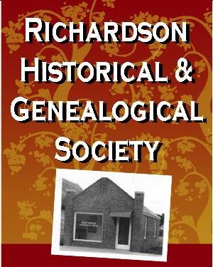 Richardson Historical and Genealogical Society logo