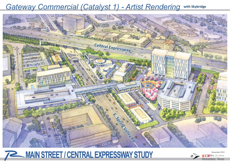 Main-Central Catalyst 1 Artist Rendering (with Skybridge)