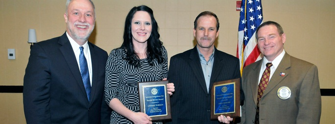 Rotary Honors City Employees