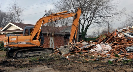 Durham Park demolition