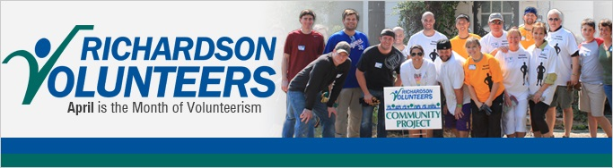 Richardson Volunteer Banner