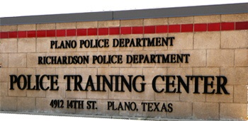 Training Center Sign