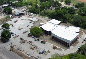 Heights Rec Center Aerial