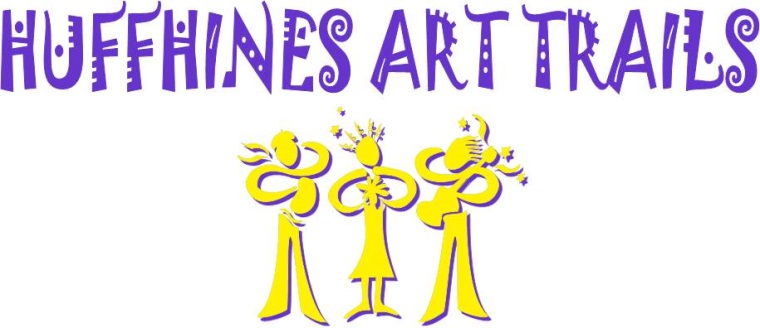 Huffhines Art Trails logo