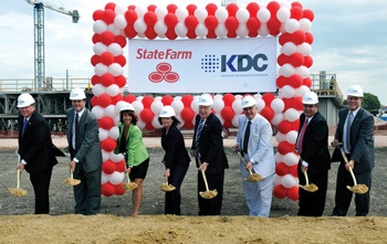 KDCStateFarmGroundbreaking