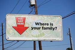 You are here where is your family