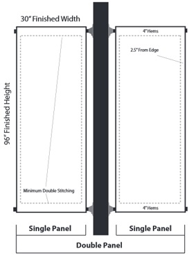 Pole Banner Schematic