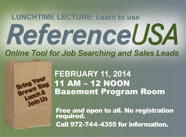 Reference USA lecture