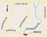 Dumont Bridge Map