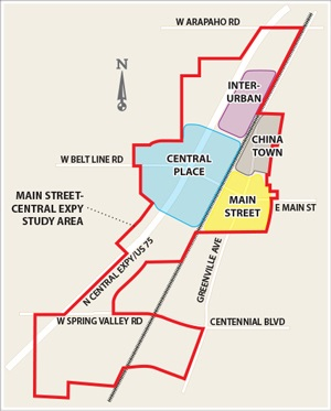 Main Street Central Concept Map