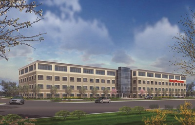 Raytheon office rendering