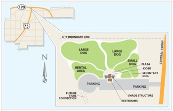 Dog Park Site Plan